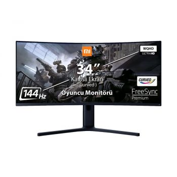 Xiaomi Mi Curved 34 inch 144Hz 4ms (HDMI+Display) FreeSync WQHD Led Monitör